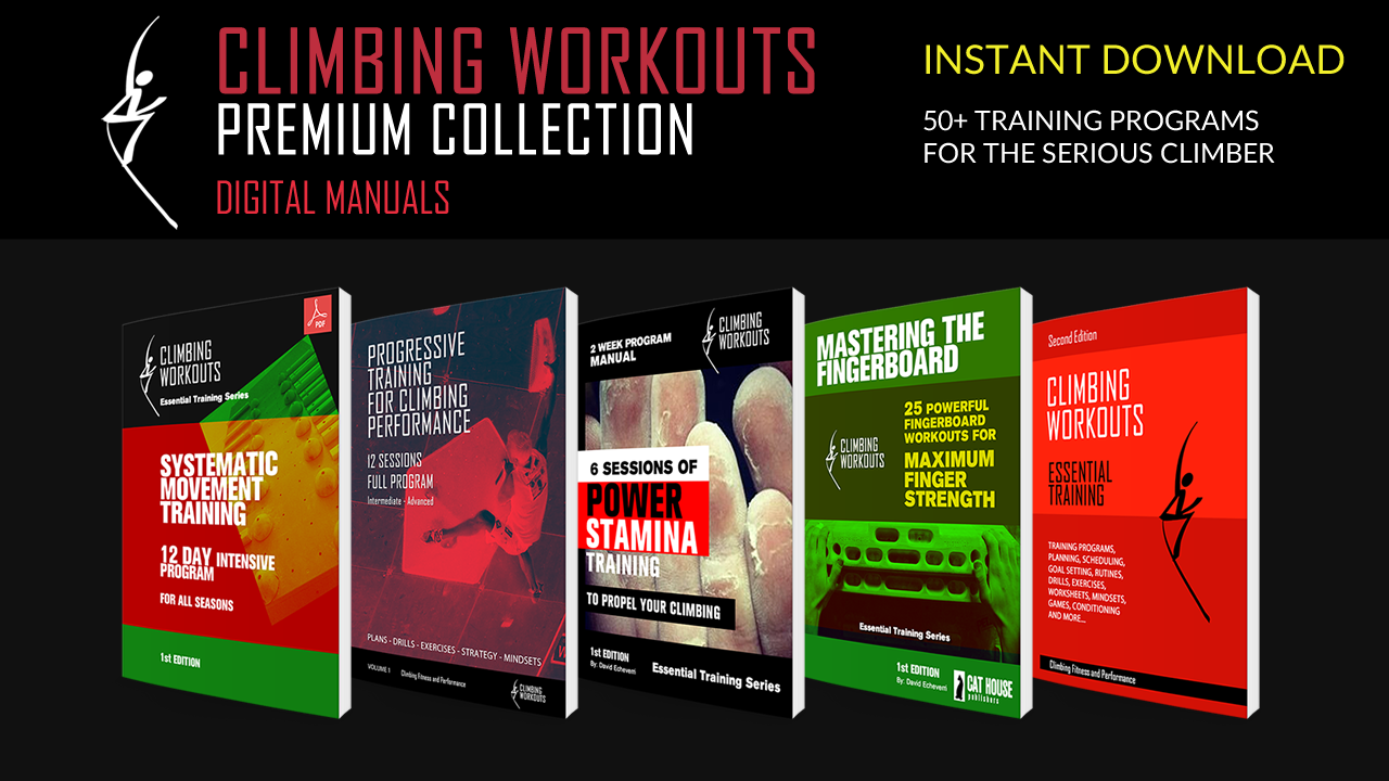 The premium collection is a selection of effective training E-guidebooks  for body movement, technique, strength, power and endurance.